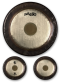 Paiste Symphonic Gongs with Paiste Logo Back & Front